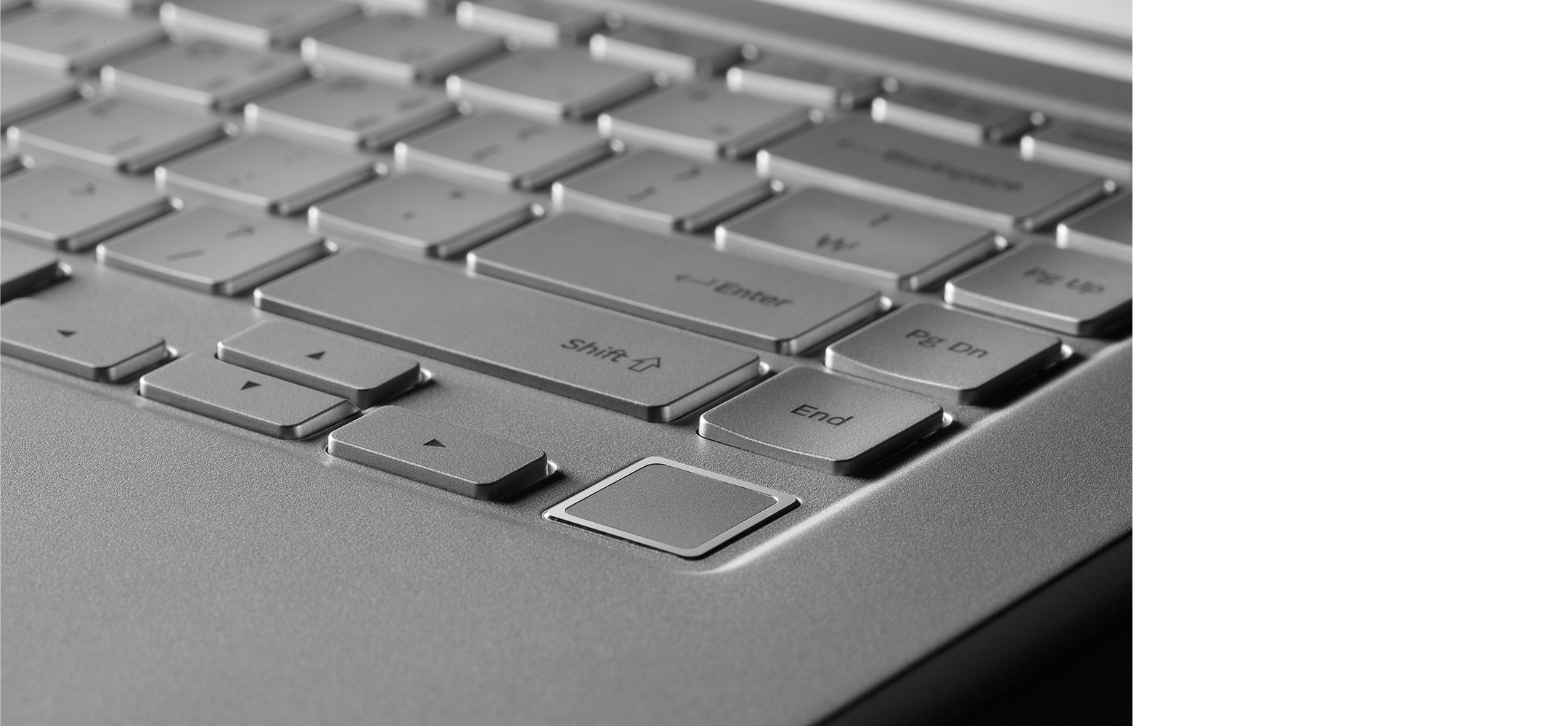 the definitive 9 the keyboard is probably the most engaging component of the laptop with that a decidedly curved design was chosen both for ergonomic