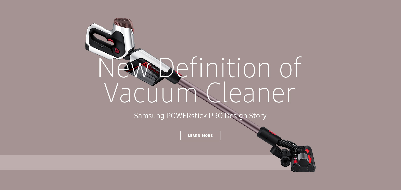 design samsung new definition of vacuum cleaner