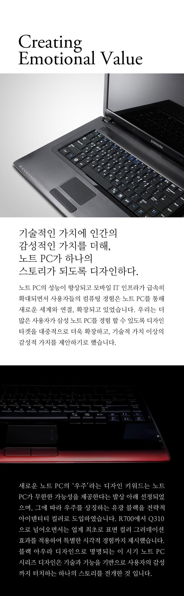 Samsung Note PC Design History